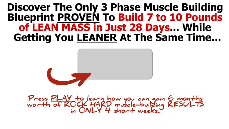 Muscle explosion 28 days to maximum mass malvernweather
